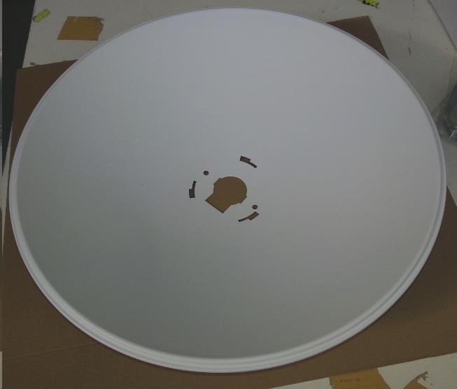 PBE-M5-400 EU - Parabola, průměr 400mm, bílá, SAMOSTATNĚ NEPRODEJNÉ!