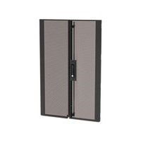 APC NetShelter SX Colocation 20U 600mm Wide Perforated Split Doors Black