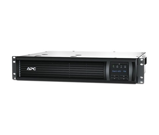 APC Smart-UPS 750VA LCD RM 2U 230V (500W) with Network Card (AP9631)