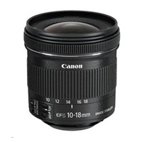 Canon EF-S 10-18mm f/4.5-5.6 IS STM zoom objektiv + EW-73C + LC KIT