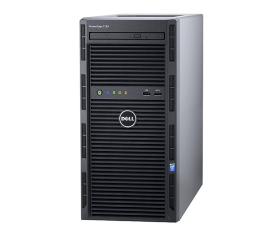 Dell PowerEdge T30 E3-1225v5 32G 4x1TB SATA RAID5 DVDRW 3xGLAN 290W 3RNBD Black